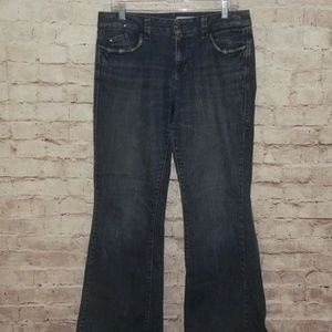 DKNY High Rise Flare Leg Stretch Size 12 Jeans